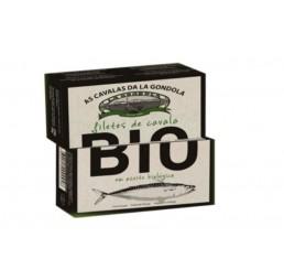 Mackerel Fillets in Organic Olive Oil La Gondola 120g